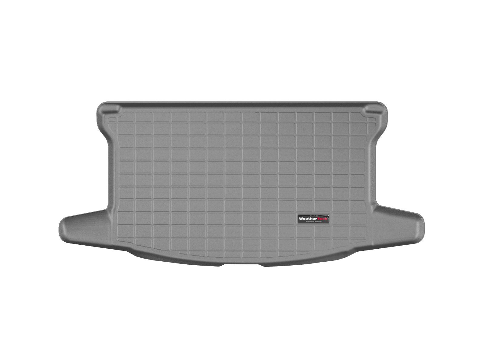 Toyota Yaris 2011>2011 Vasca baule tappeto bagagliaio grigio *1311