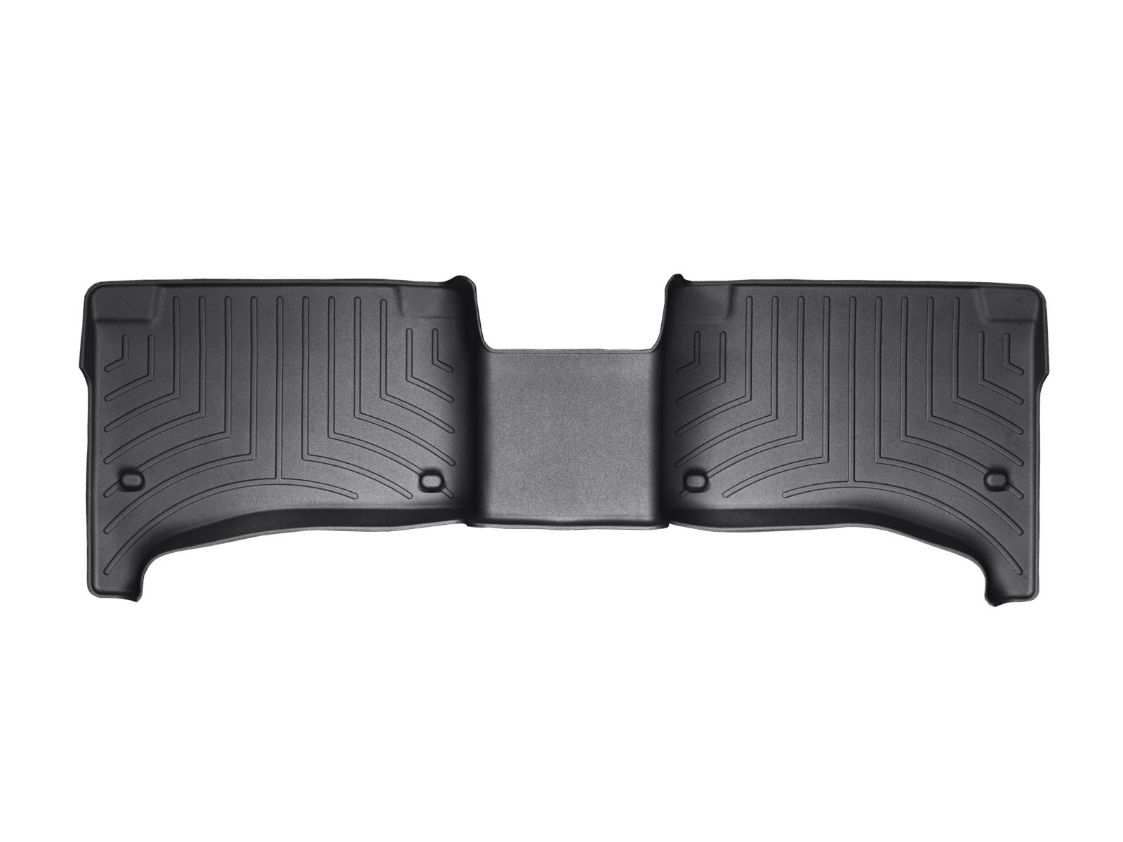 Tappeti gomma su misura bordo alto Volkswagen Touareg 02>06 Nero A4285*