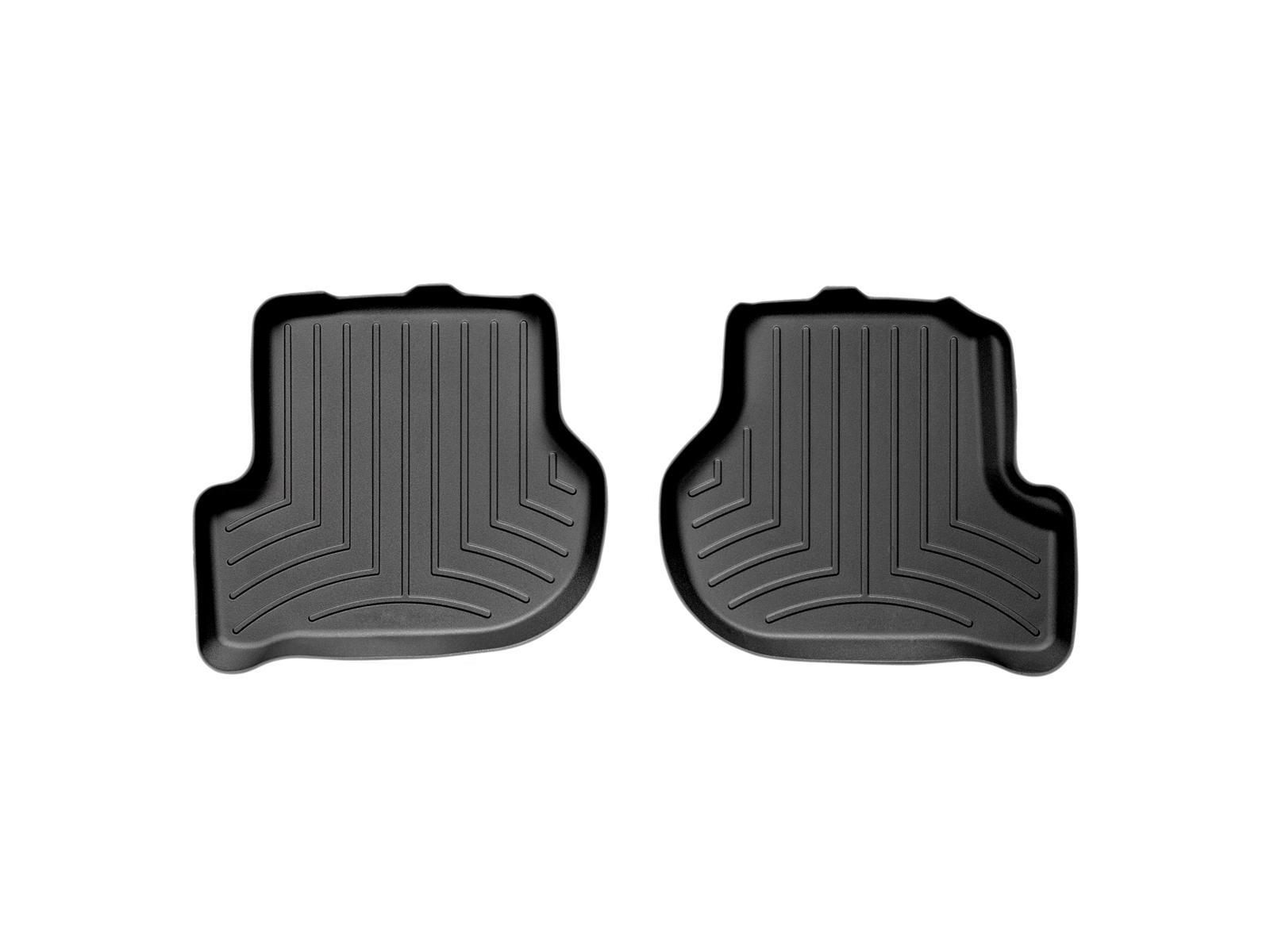 Tappeti gomma su misura bordo alto Volkswagen Scirocco 08>15 Nero A4260*