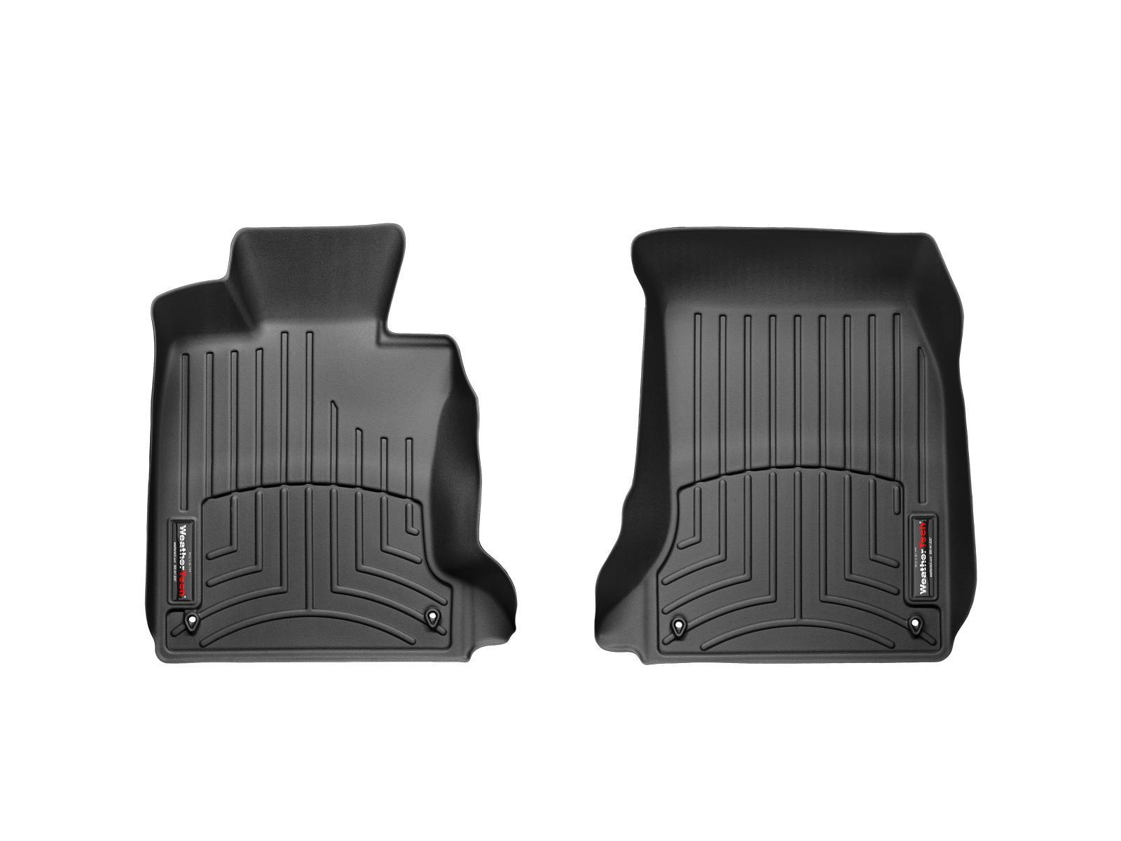 BMW M5 (E60) 06>10 Tappeti gomma su misura bordo alto nero