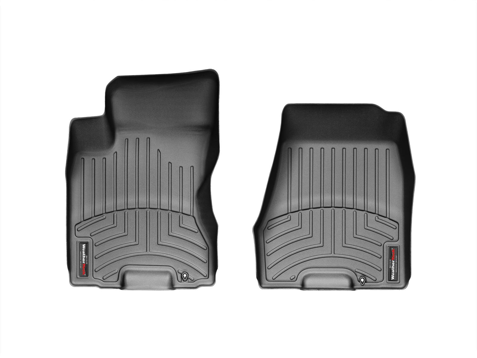 Tappeti gomma su misura bordo alto Nissan X-Trail 07>07 Nero A2923
