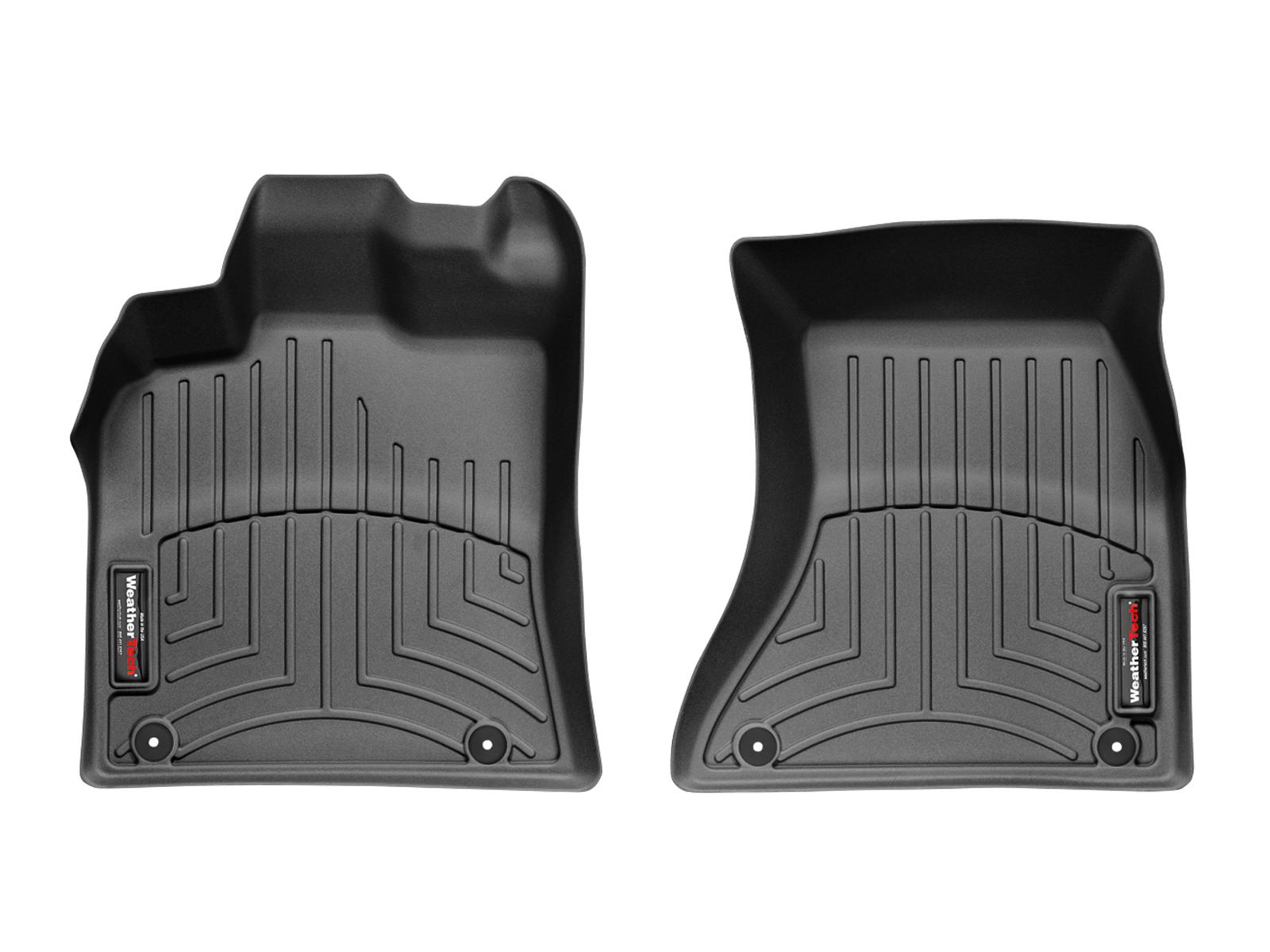 Tappeti gomma su misura bordo alto Porsche® Macan 14>17 Nero A3167