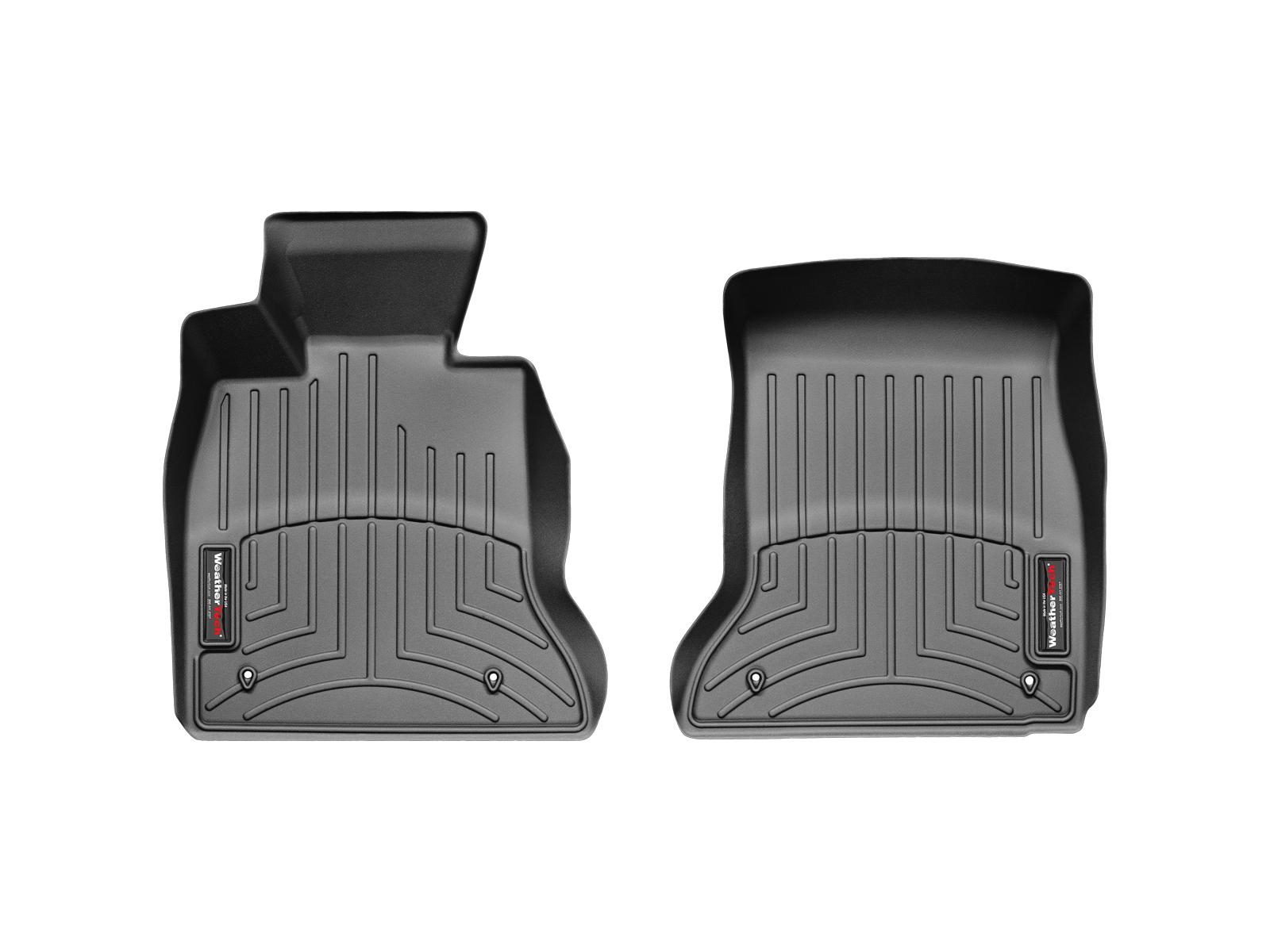 BMW M5 (F10) 11>16 Tappeti gomma su misura bordo alto nero