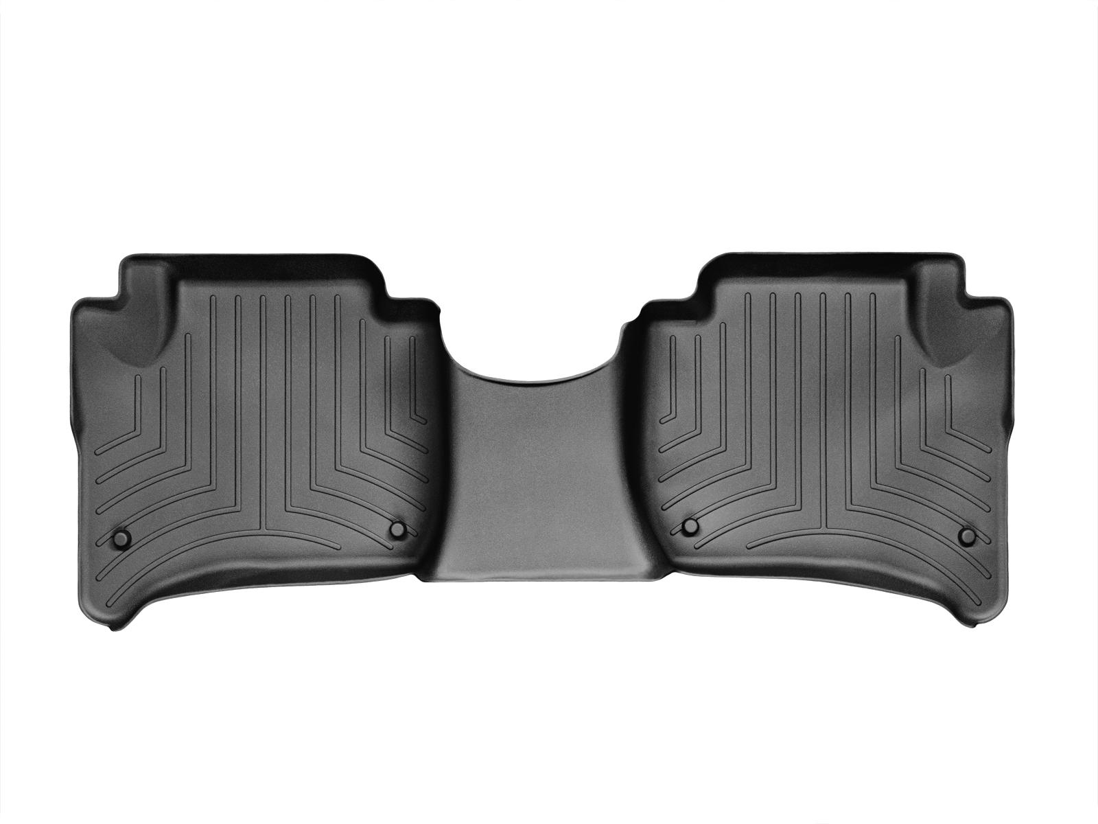 Tappeti gomma su misura bordo alto Volkswagen Touareg 11>17 Nero A4336*