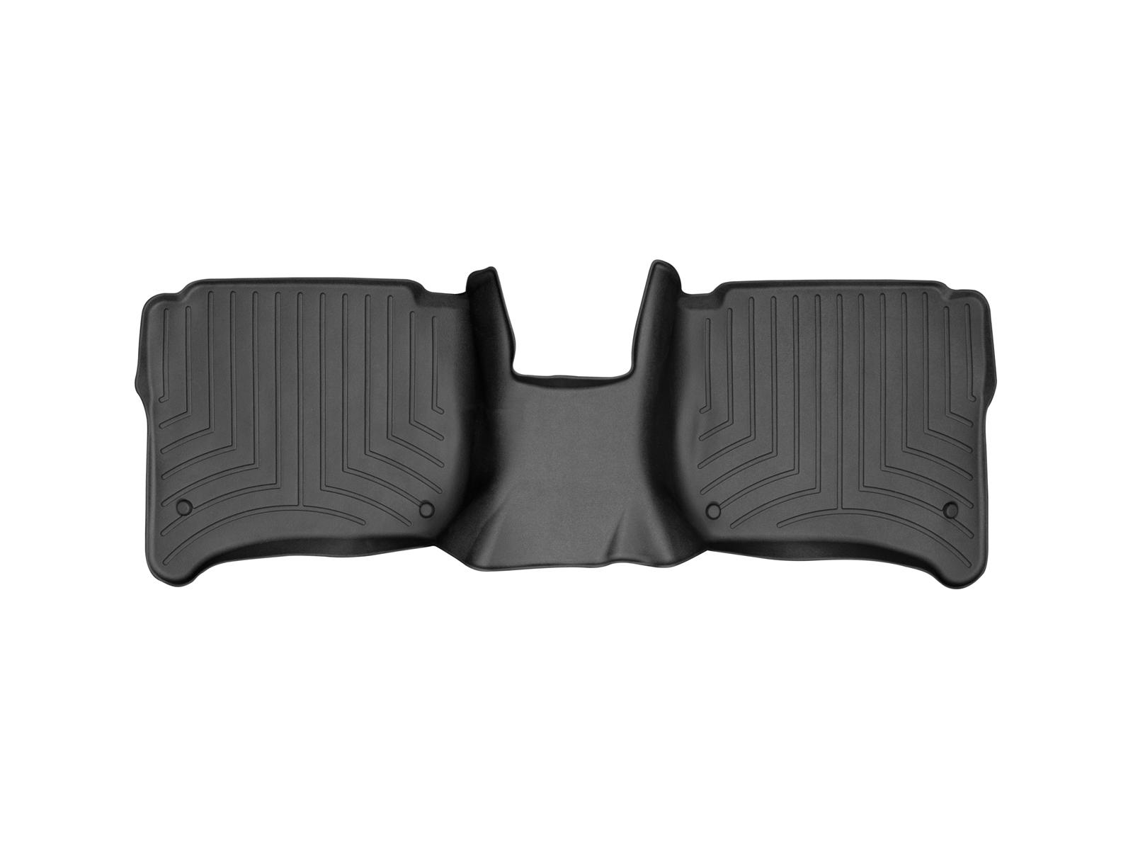 Tappeti gomma su misura bordo alto Volkswagen Touareg 10>10 Nero A4326*
