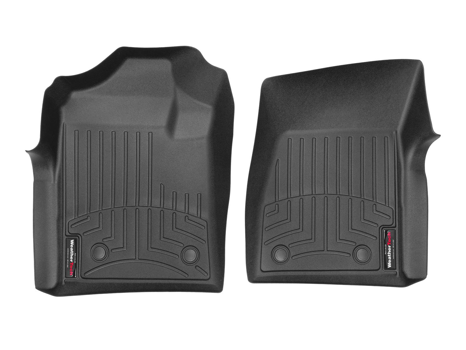 Tappeti gomma su misura bordo alto Chevrolet Silverado 08>13 Nero A179