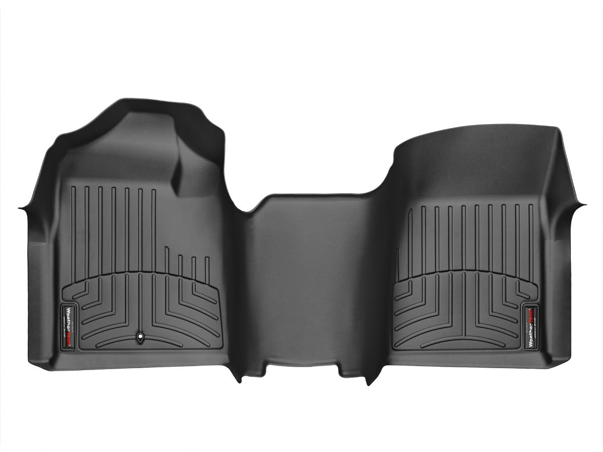 Tappeti gomma su misura bordo alto Chevrolet Silverado 08>13 Nero A181