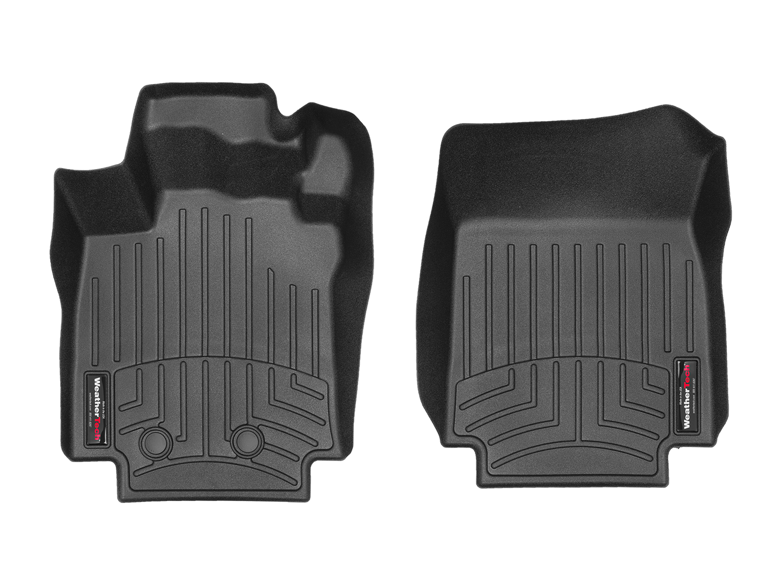 Tappeti gomma su misura bordo alto Renault Clio 06>14 Nero A3232