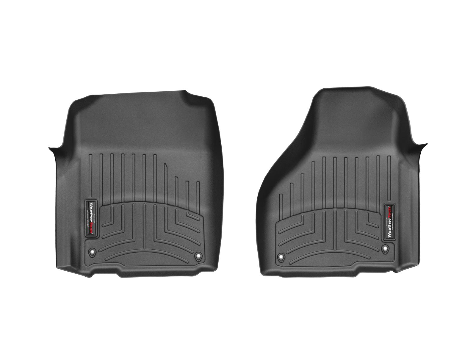 Tappeti gomma su misura bordo alto RAM Ram 1500 12>12 Nero A3187