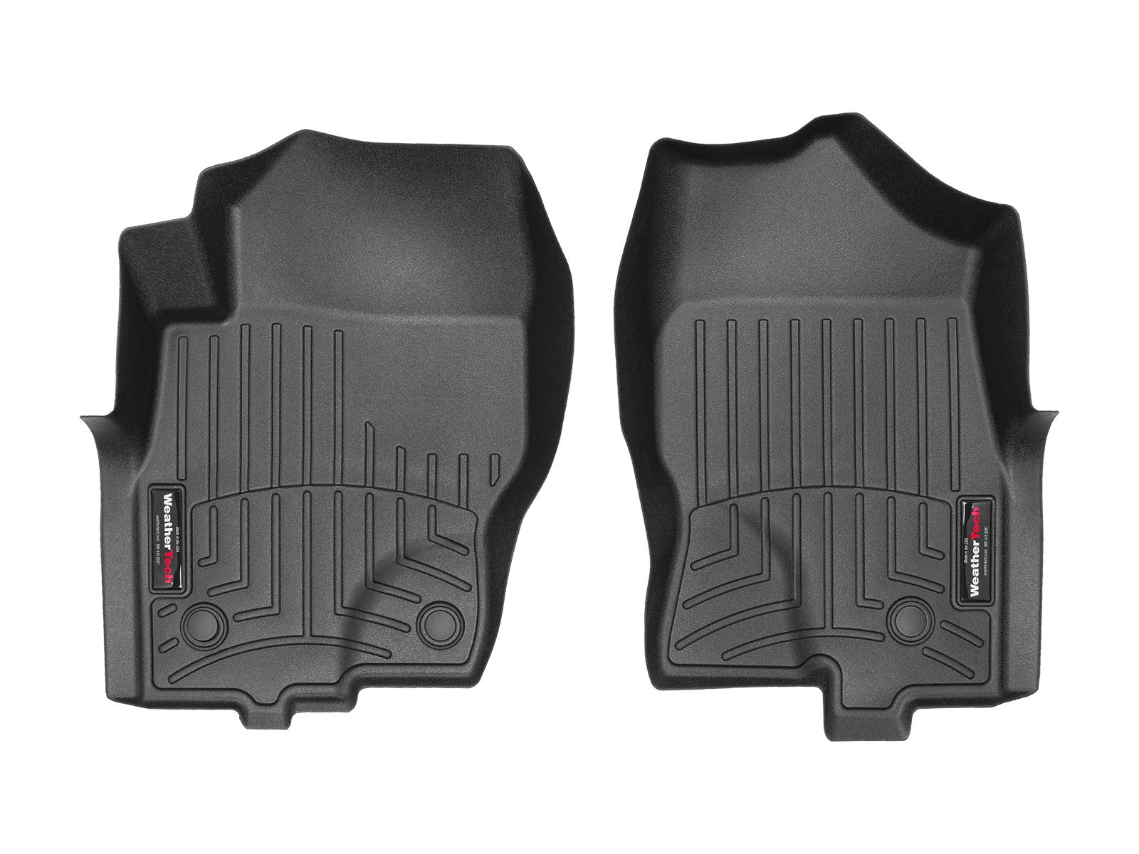 Tappeti gomma su misura bordo alto Nissan Pathfinder 10>15 Nero A2909