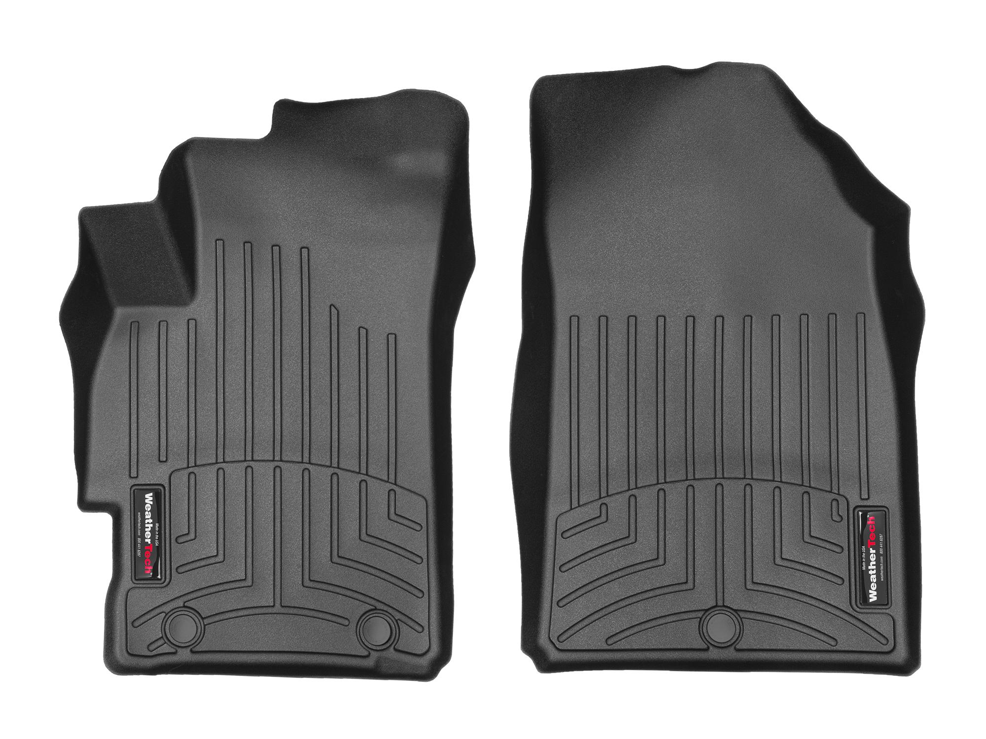 Tappeti gomma su misura bordo alto Chevrolet Spark 10>15 Nero A206