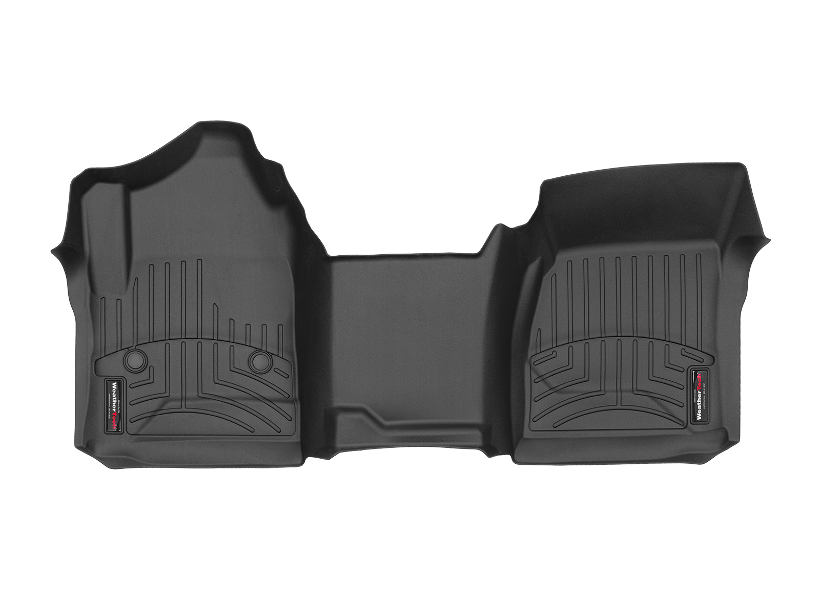 Tappeti gomma su misura bordo alto Chevrolet Silverado 15>17 Nero A201