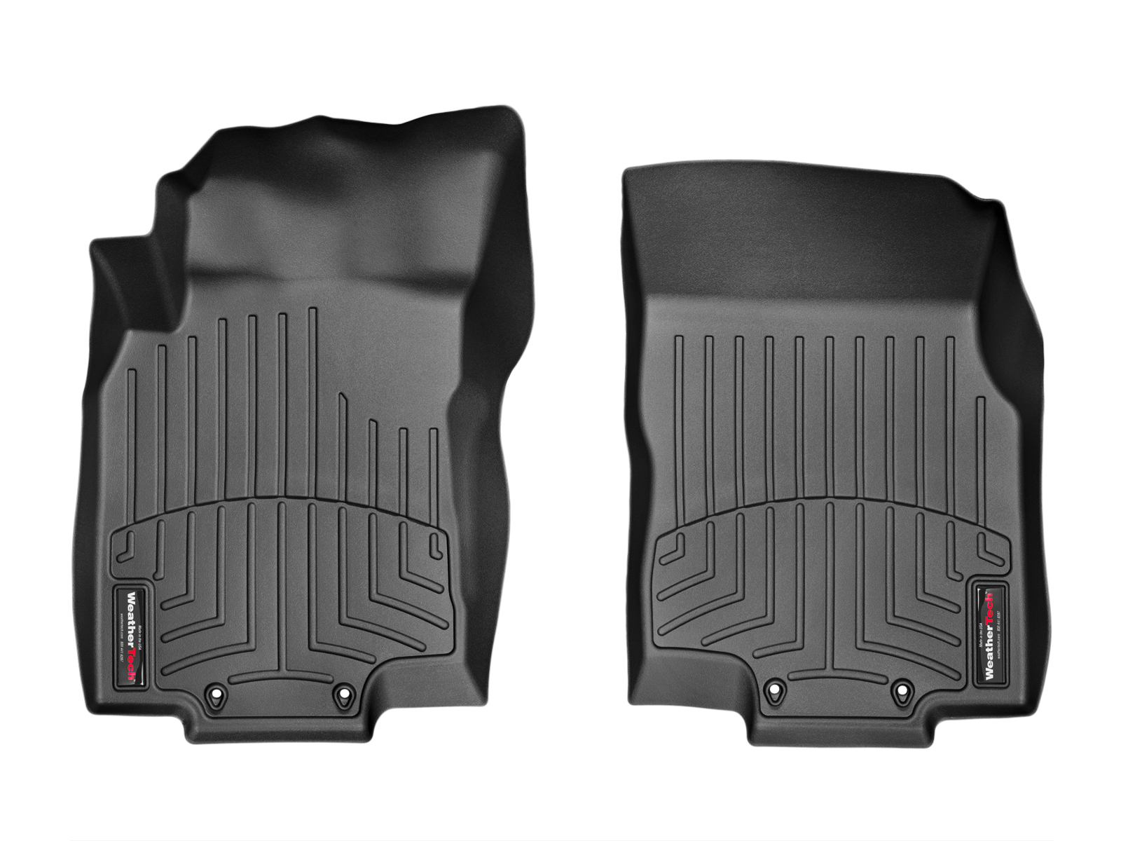 Tappeti gomma su misura bordo alto Nissan X-Trail 15>17 Nero A2943