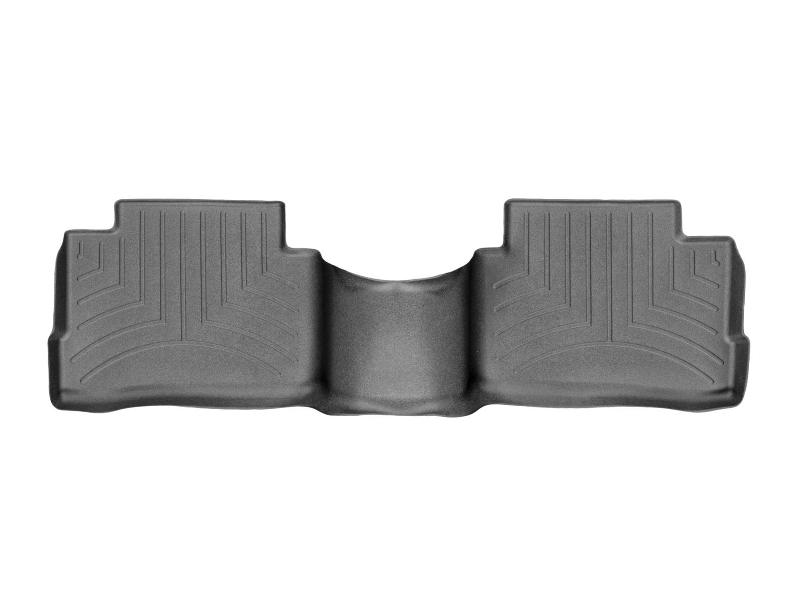 Tappeti gomma su misura bordo alto Nissan Qashqai 14>17 Nero A2918