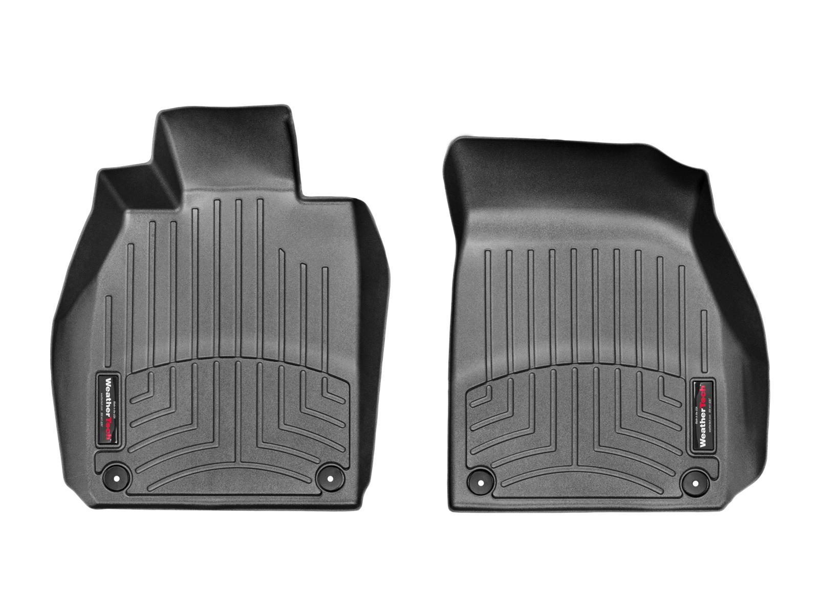 Tappeti gomma su misura bordo alto Porsche® Cayman® 13>16 Nero A3162