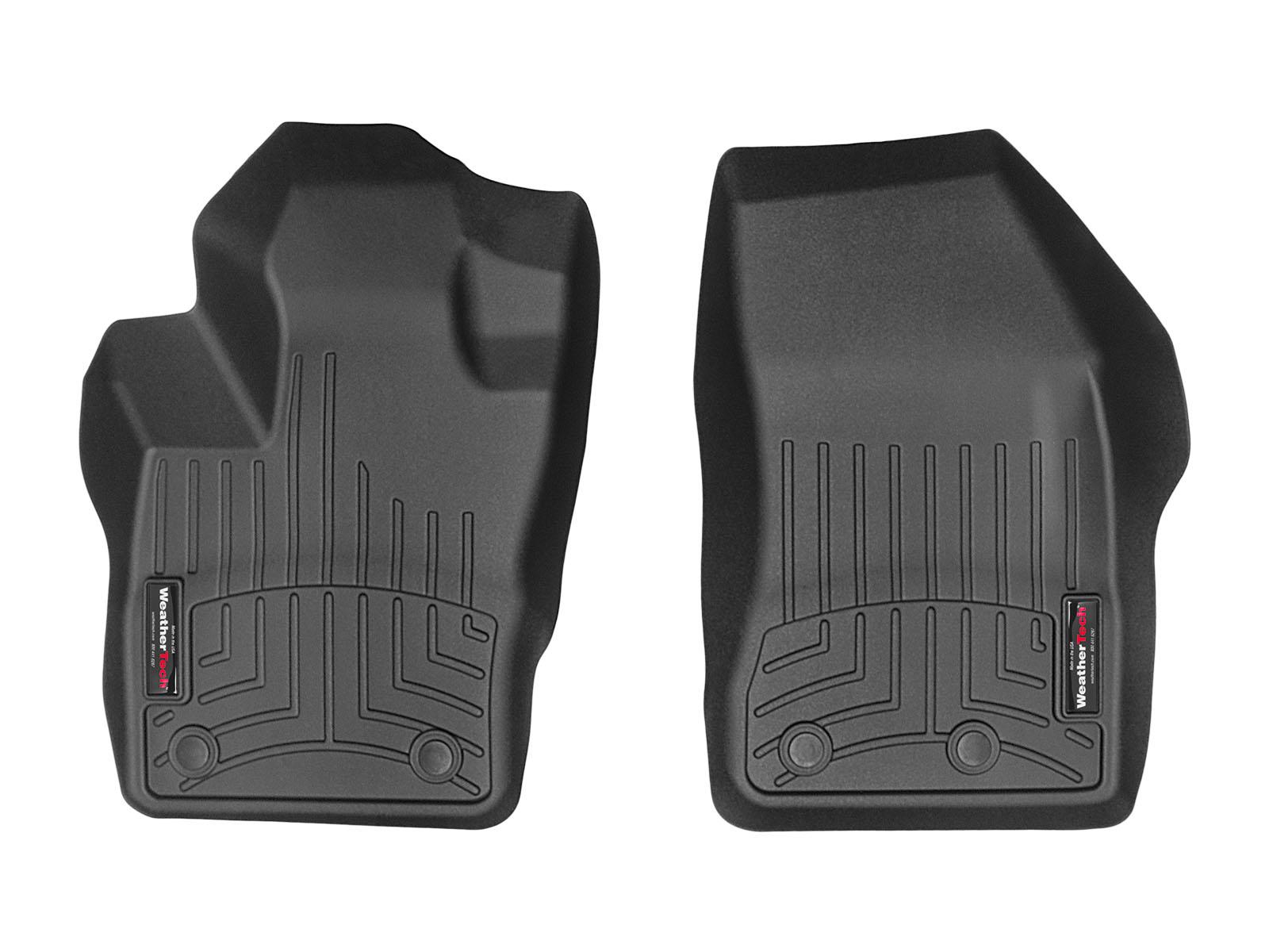 Tappeti gomma su misura bordo alto Jeep Renegade 16>17 Nero A1710