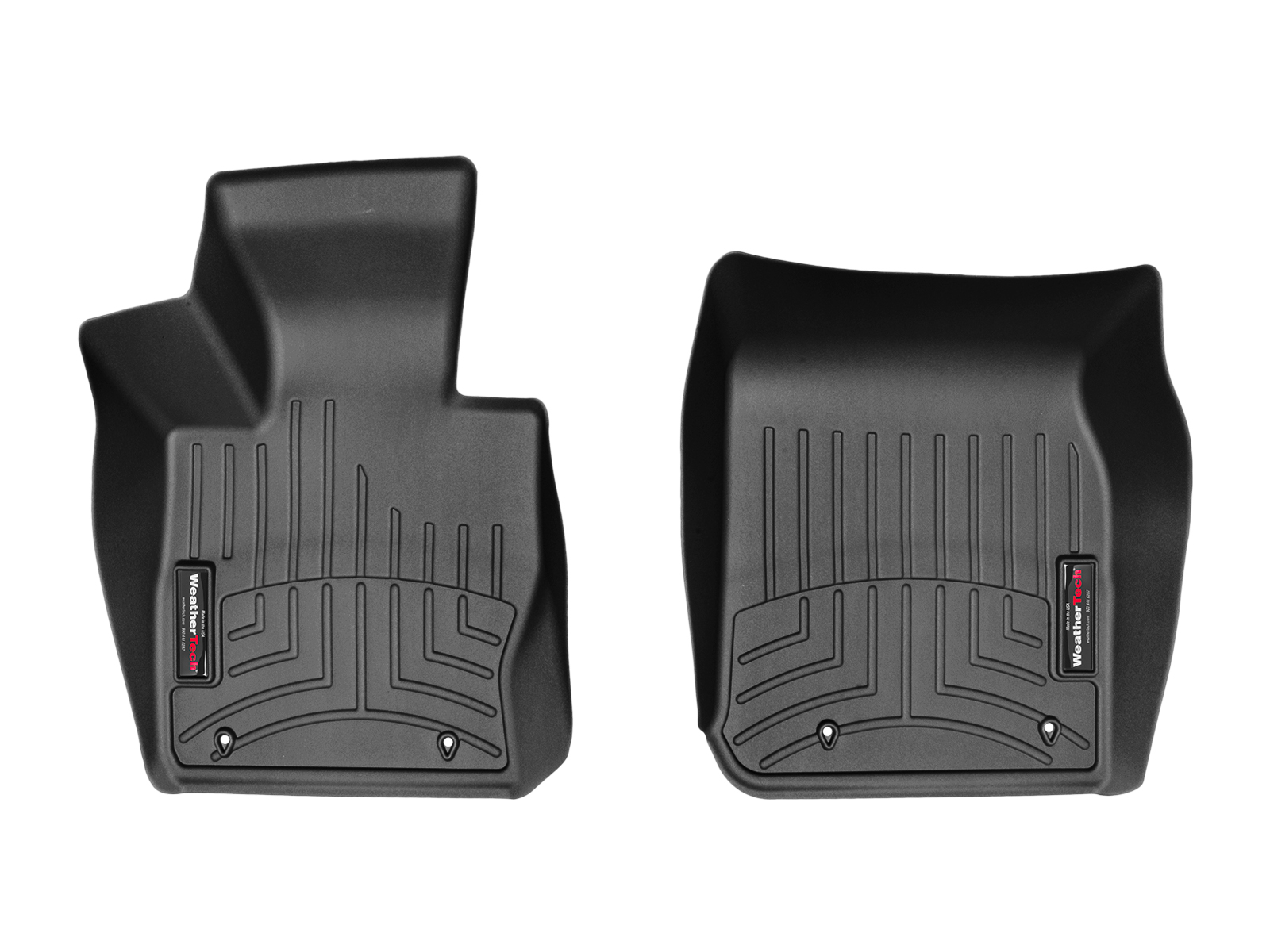 BMW Serie 2 (F22/F23) 15>17 Tappeti gomma su misura bordo alto nero