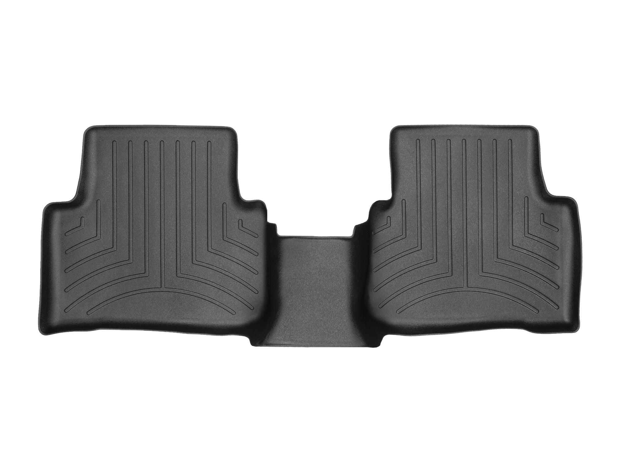 Tappeti gomma su misura bordo alto Volkswagen Tiguan 17>17 Nero A4276*