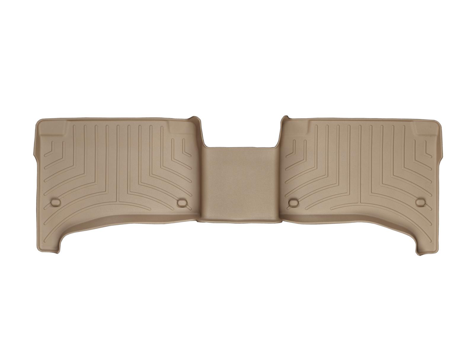 Tappeti gomma su misura bordo alto Volkswagen Touareg 09>09 Marrone A4306*
