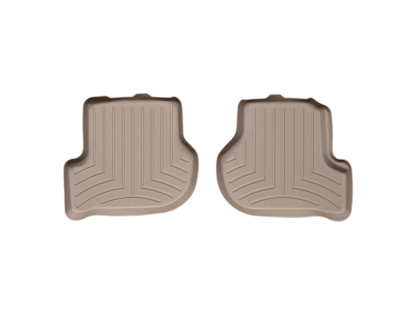 Tappeti gomma su misura bordo alto Volkswagen Scirocco 08>15 Marrone A4258*