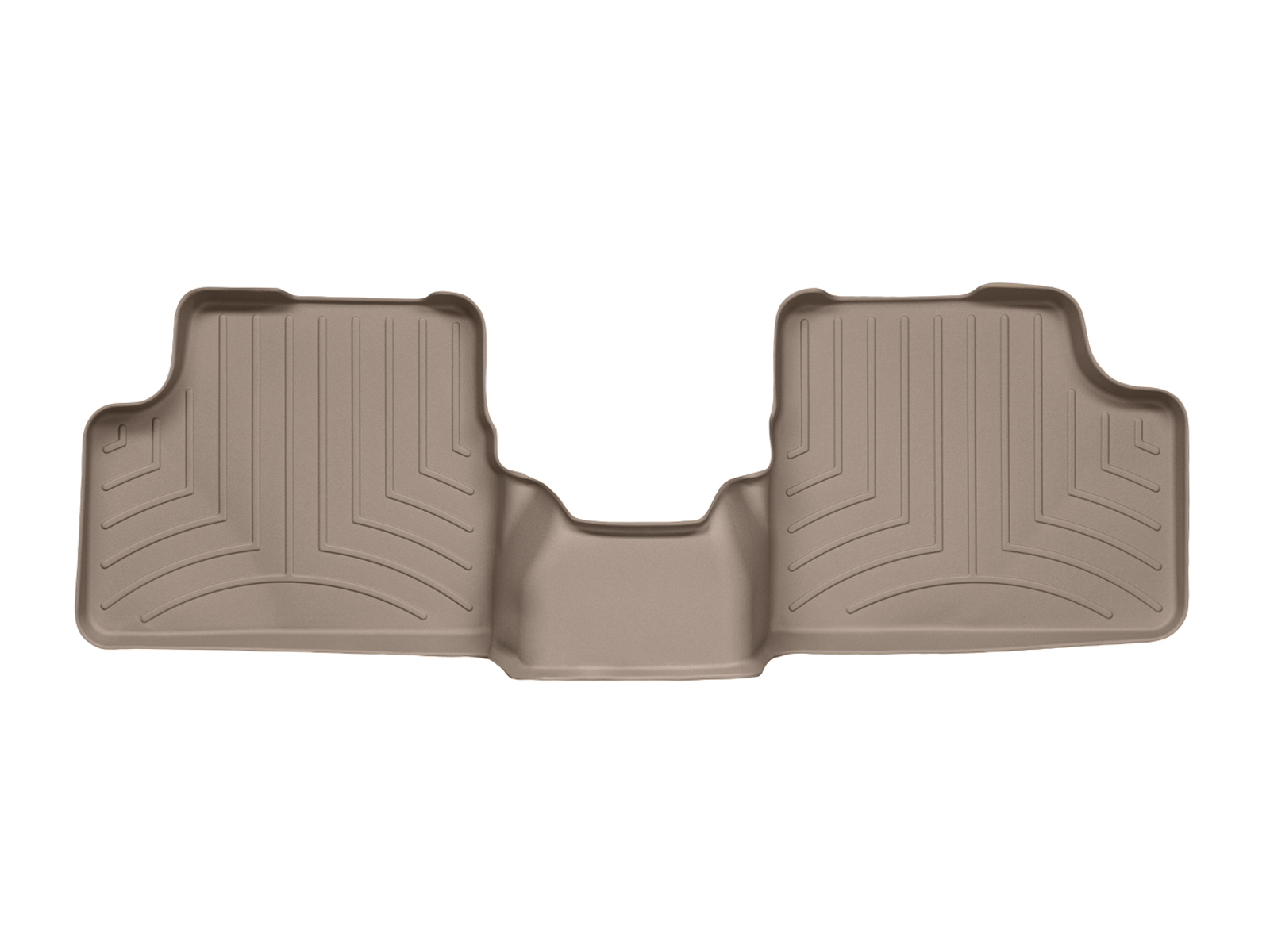 Tappeti gomma su misura bordo alto Opel Astra 09>09 Marrone A2961