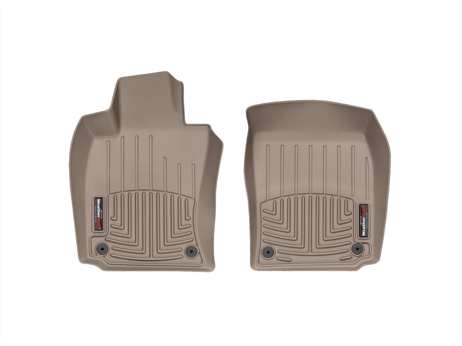 Tappeti gomma su misura bordo alto Porsche® Panamera 10>16 Marrone A3171