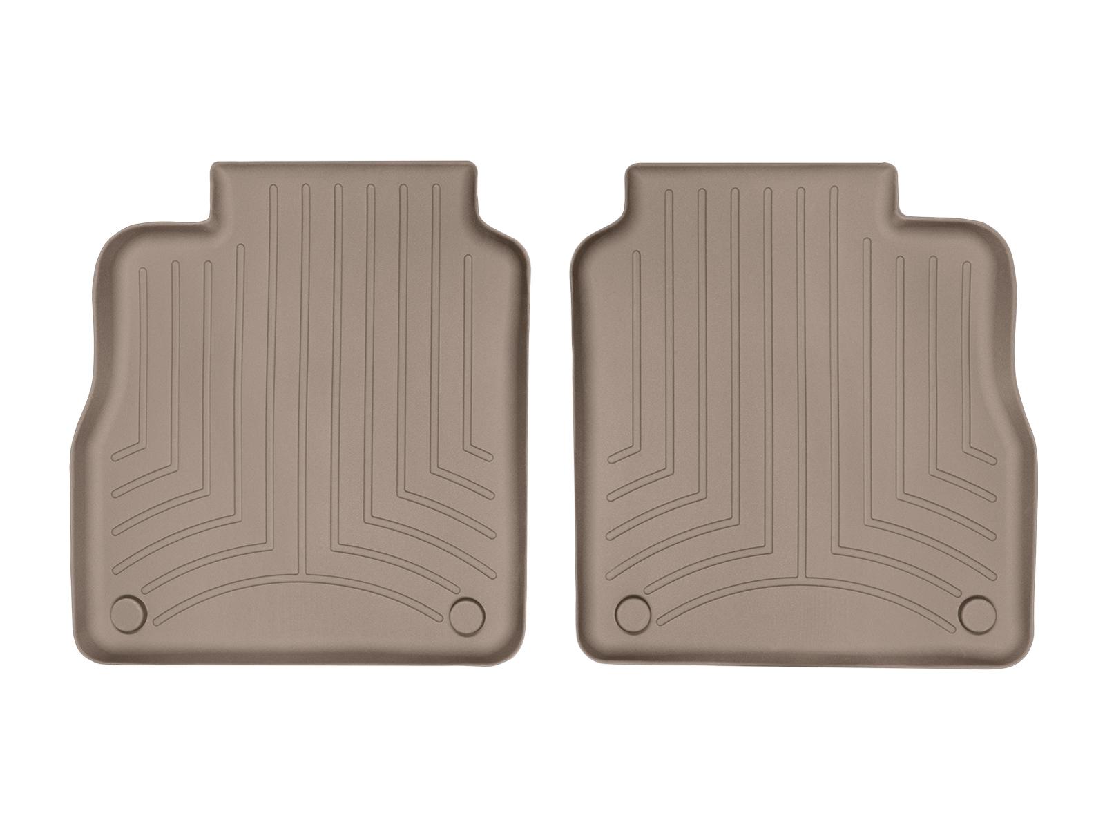 Tappeti gomma su misura bordo alto Porsche® Panamera 10>16 Marrone A3172