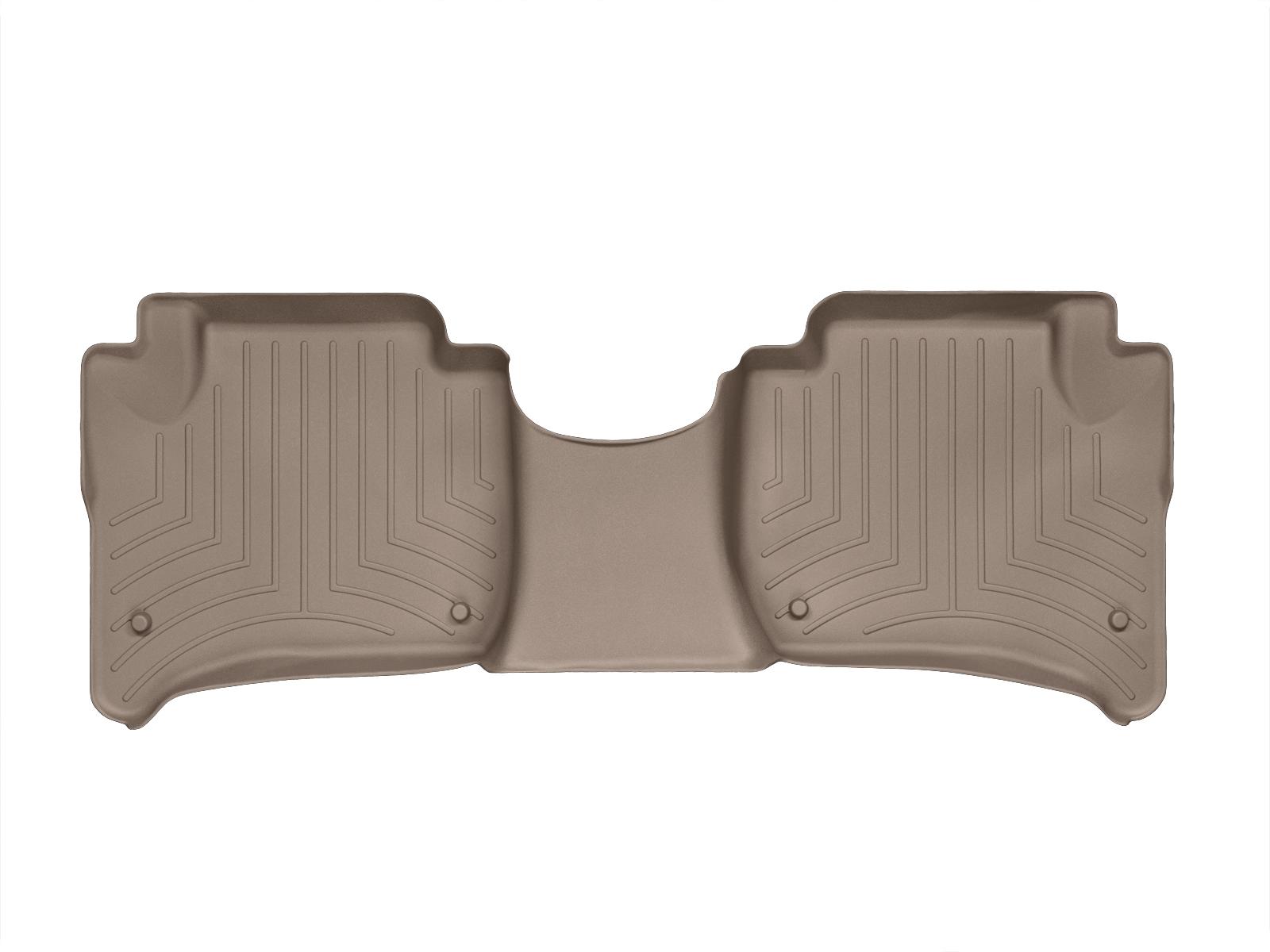 Tappeti gomma su misura bordo alto Volkswagen Touareg 10>10 Marrone A4319*