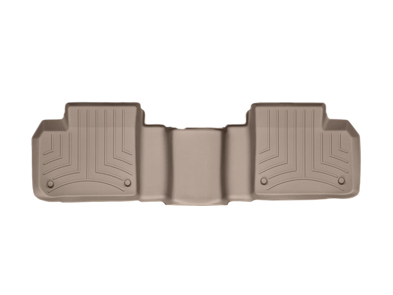 Tappeti gomma su misura bordo alto Mercedes GLS-Class 15>17 Marrone A2513