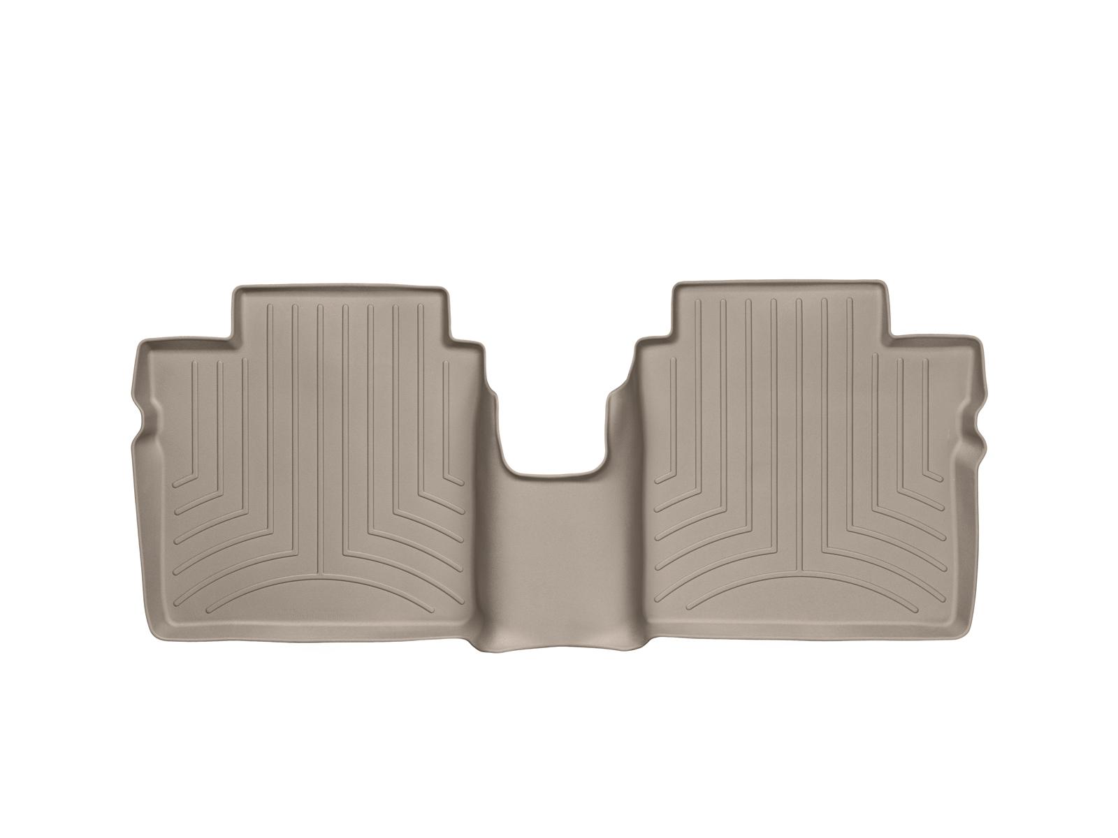 Tappeti gomma su misura bordo alto Nissan Note 14>17 Marrone A2904