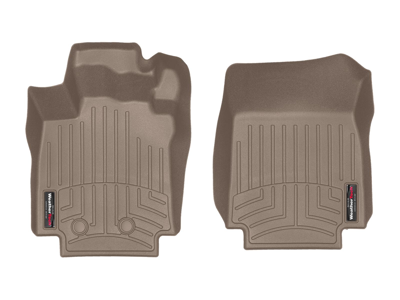Tappeti gomma su misura bordo alto Renault Clio 06>14 Marrone A3230