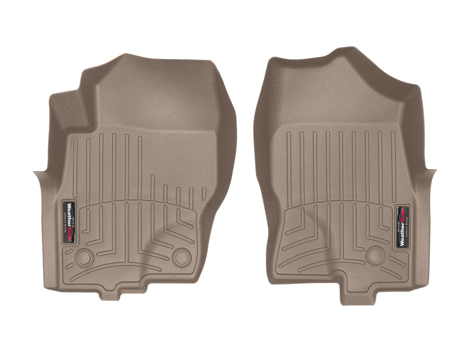 Tappeti gomma su misura bordo alto Nissan Pathfinder 10>15 Marrone A2907
