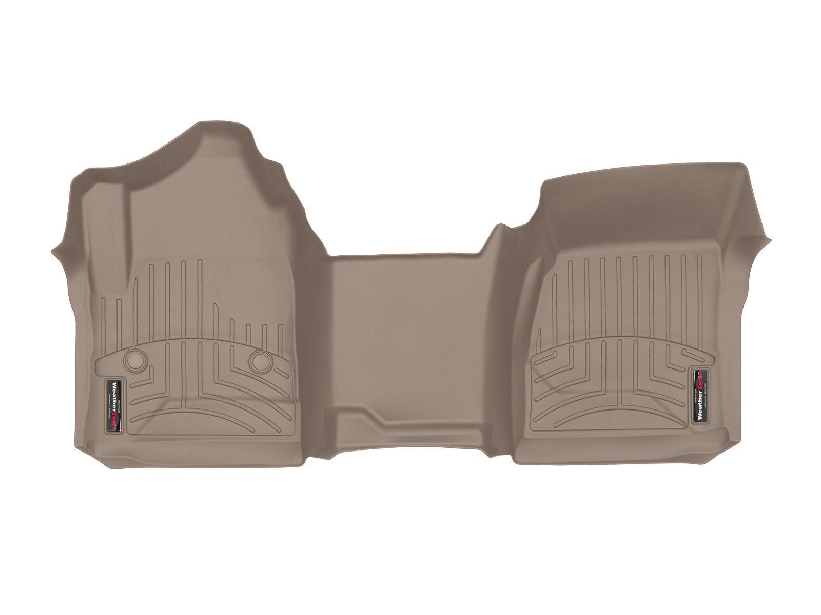Tappeti gomma su misura bordo alto Chevrolet Silverado 15>17 Marrone A199