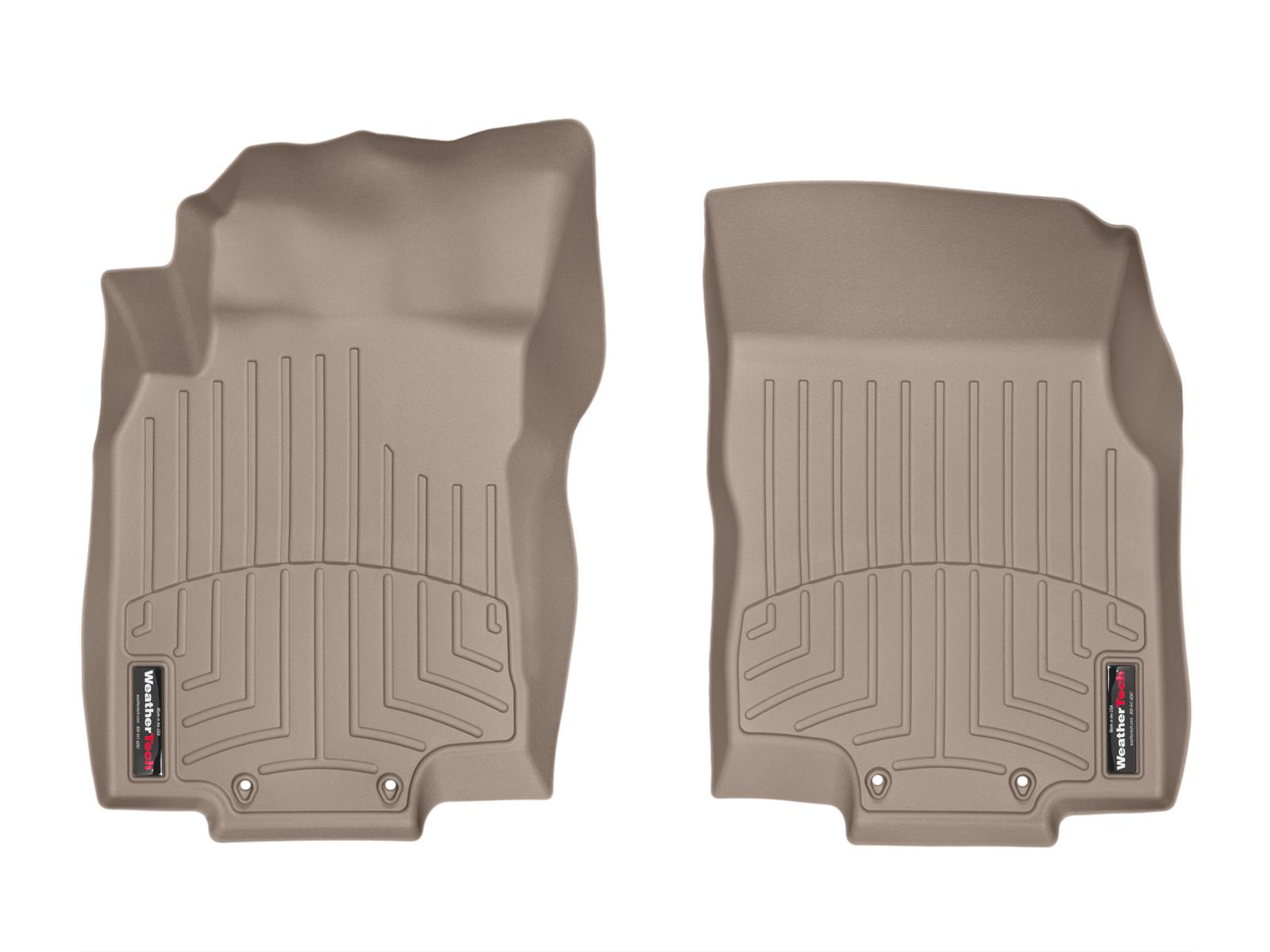 Tappeti gomma su misura bordo alto Nissan X-Trail 14>14 Marrone A2934