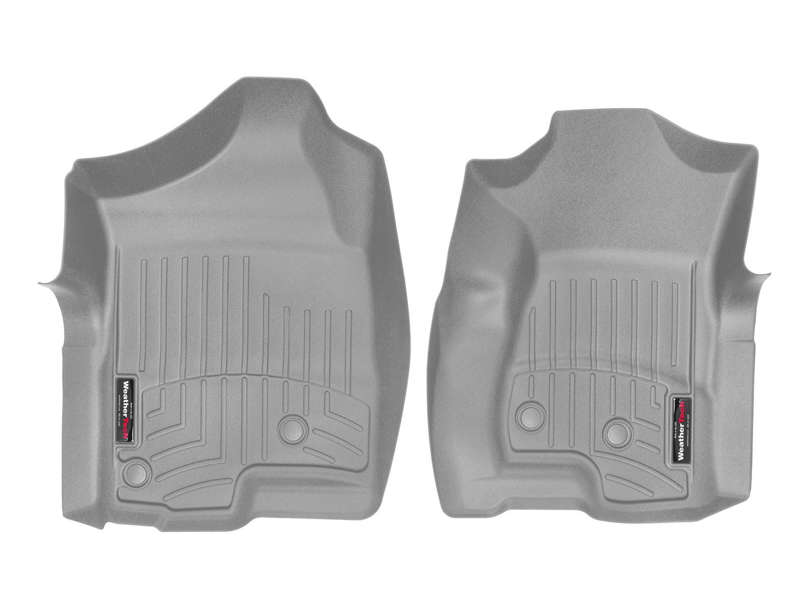 Tappeti gomma su misura bordo alto Chevrolet Silverado 07>07 Grigio A158