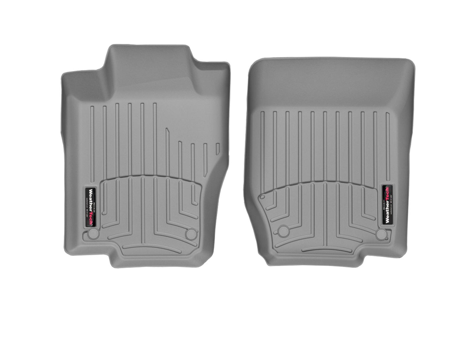 Tappeti gomma su misura bordo alto Mercedes ML-Class 06>11 Grigio A2519