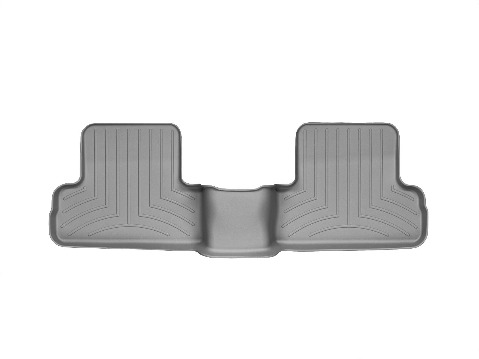 Tappeti gomma su misura bordo alto Nissan X-Trail 08>13 Grigio A2926