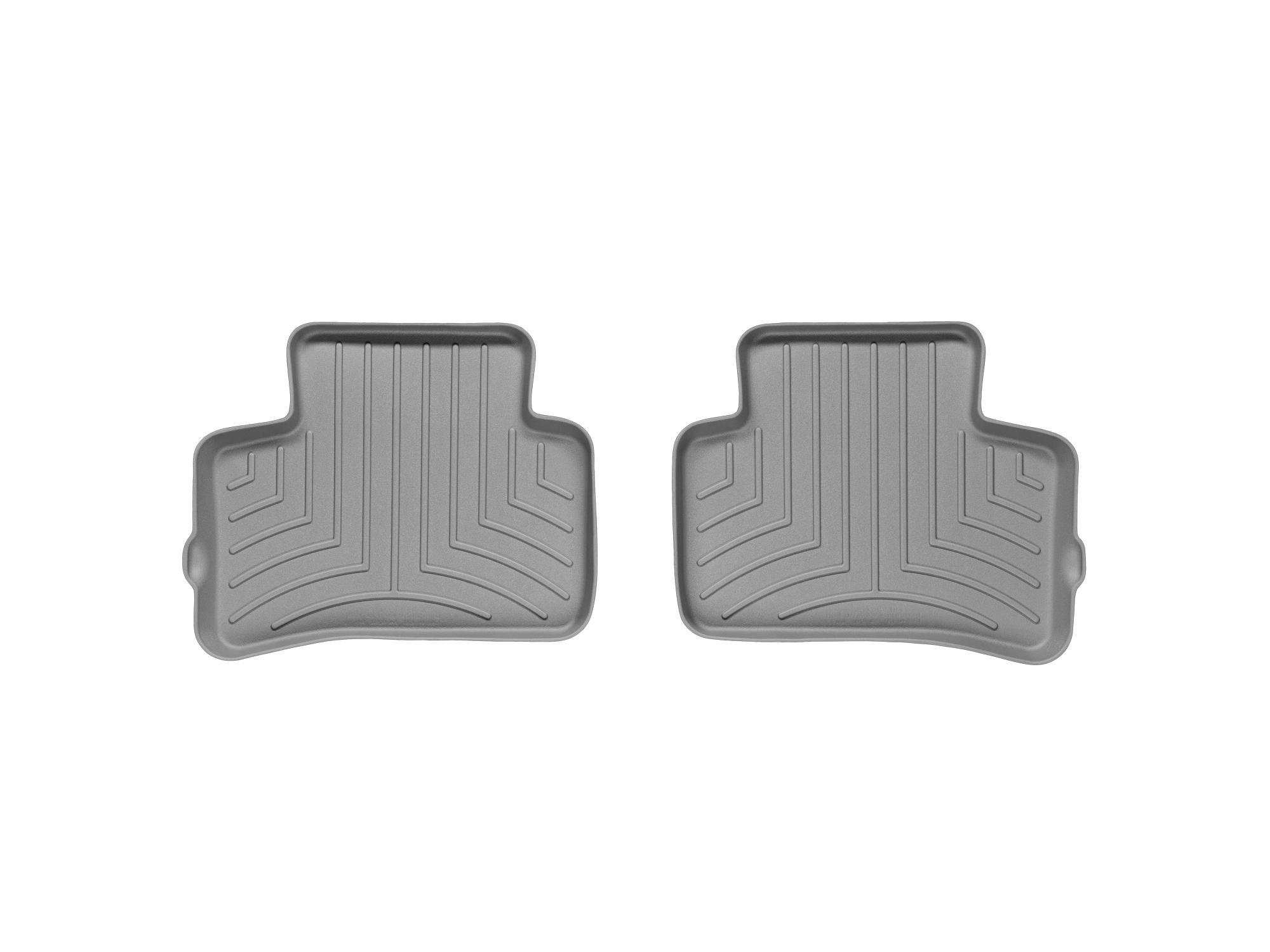 Tappeti gomma su misura bordo alto Mercedes GLK-Class 09>15 Grigio A2492