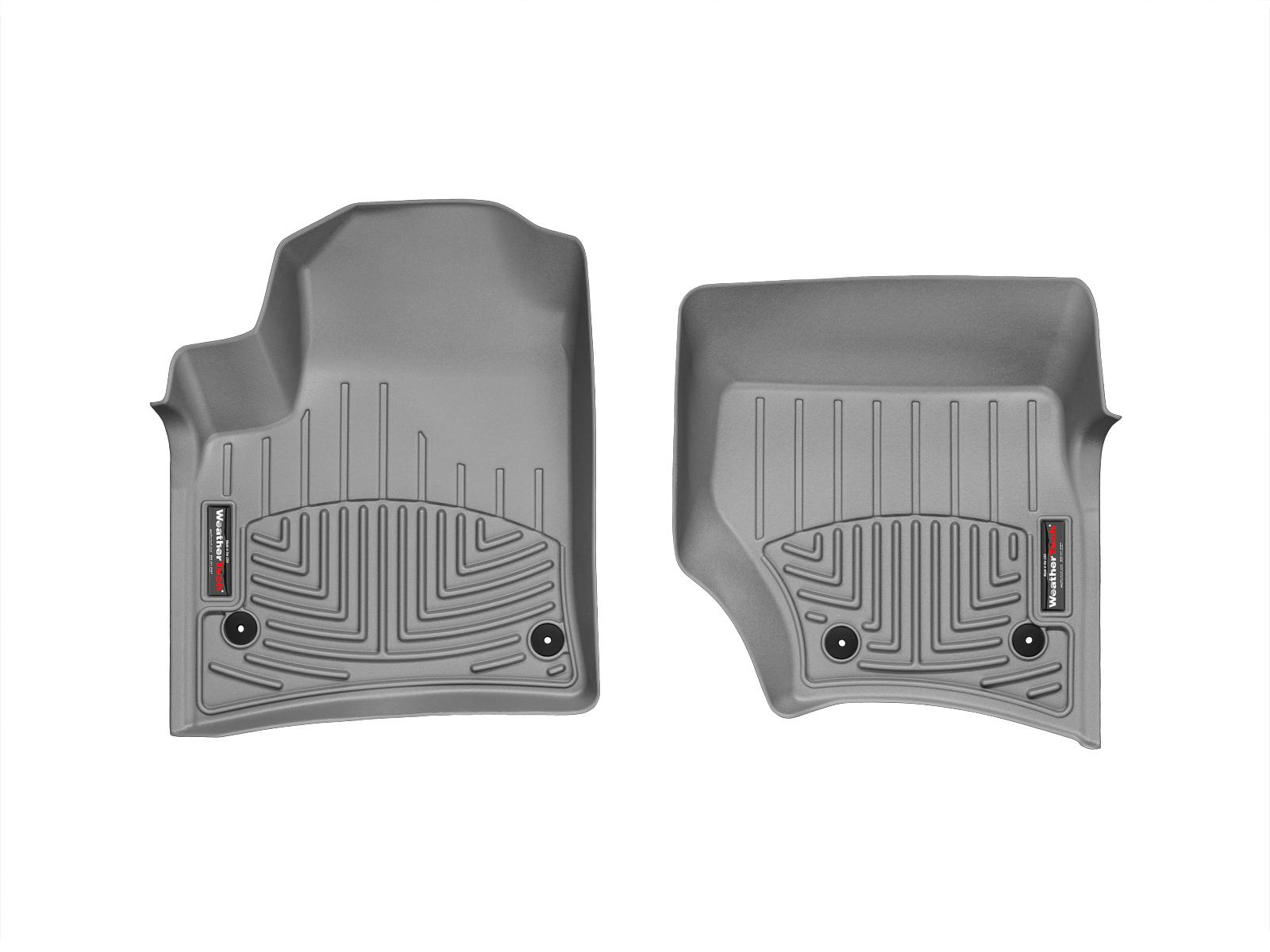 Tappeti gomma su misura bordo alto Volkswagen Touareg 09>09 Grigio A4301*