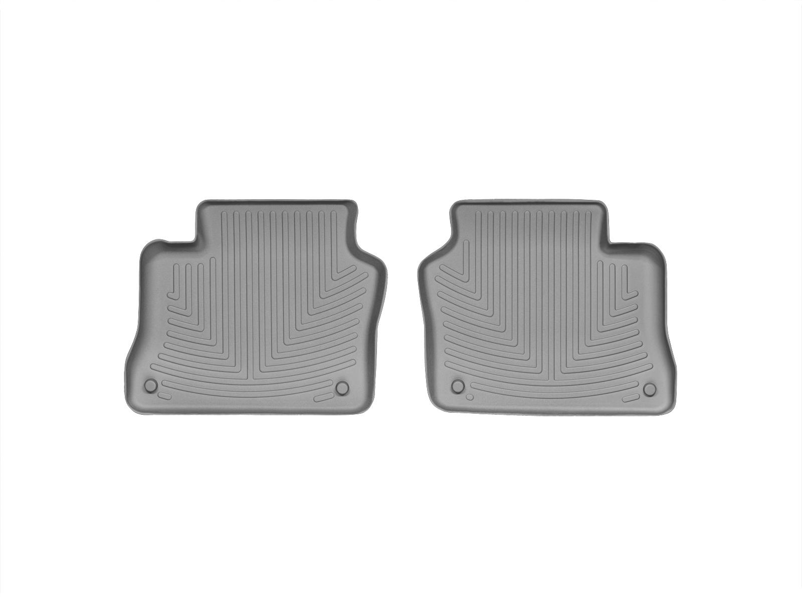 Tappeti gomma su misura bordo alto Porsche® Panamera 10>16 Grigio A3170