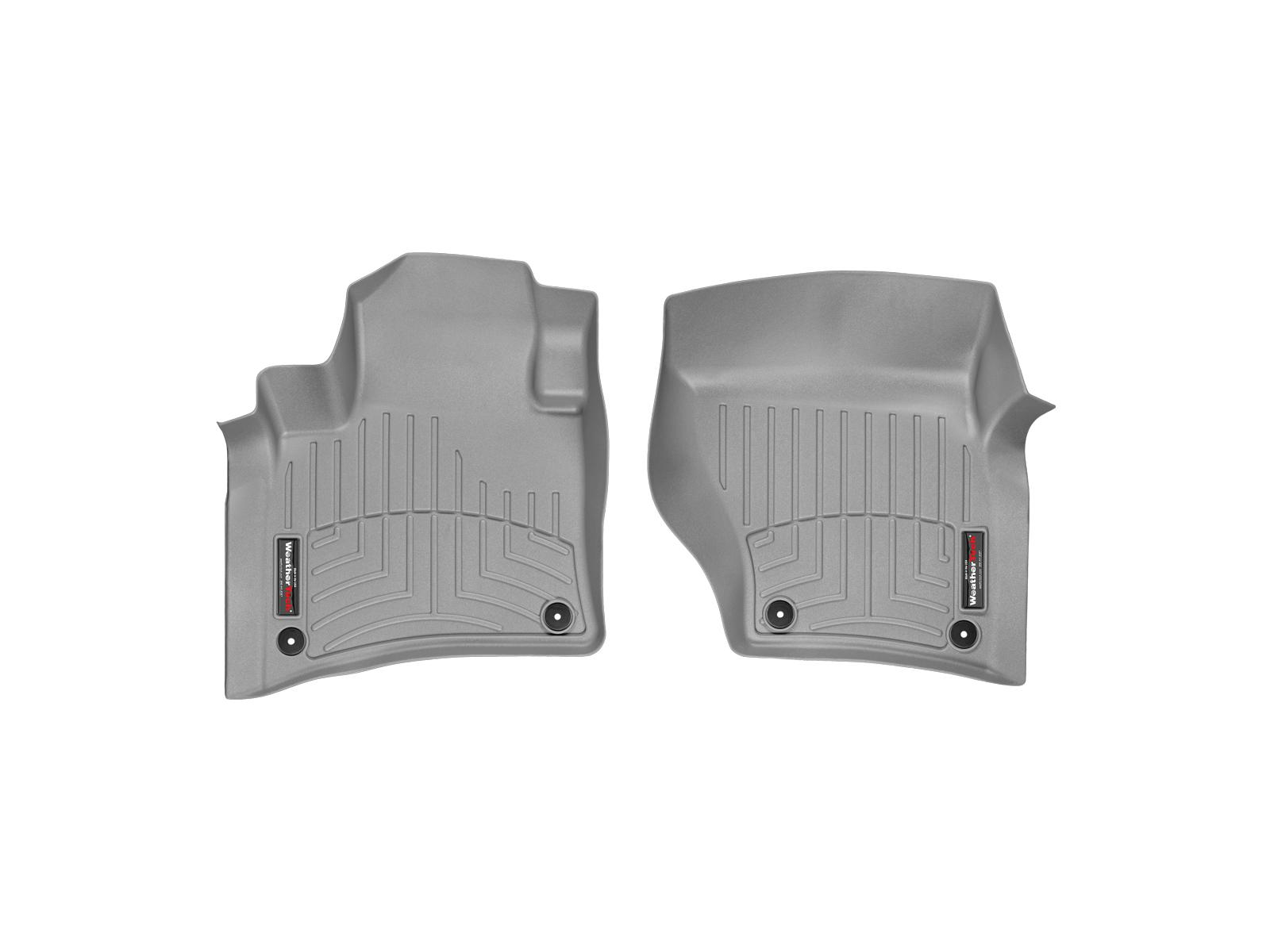 Tappeti gomma su misura bordo alto Volkswagen Touareg 10>10 Grigio A4310*