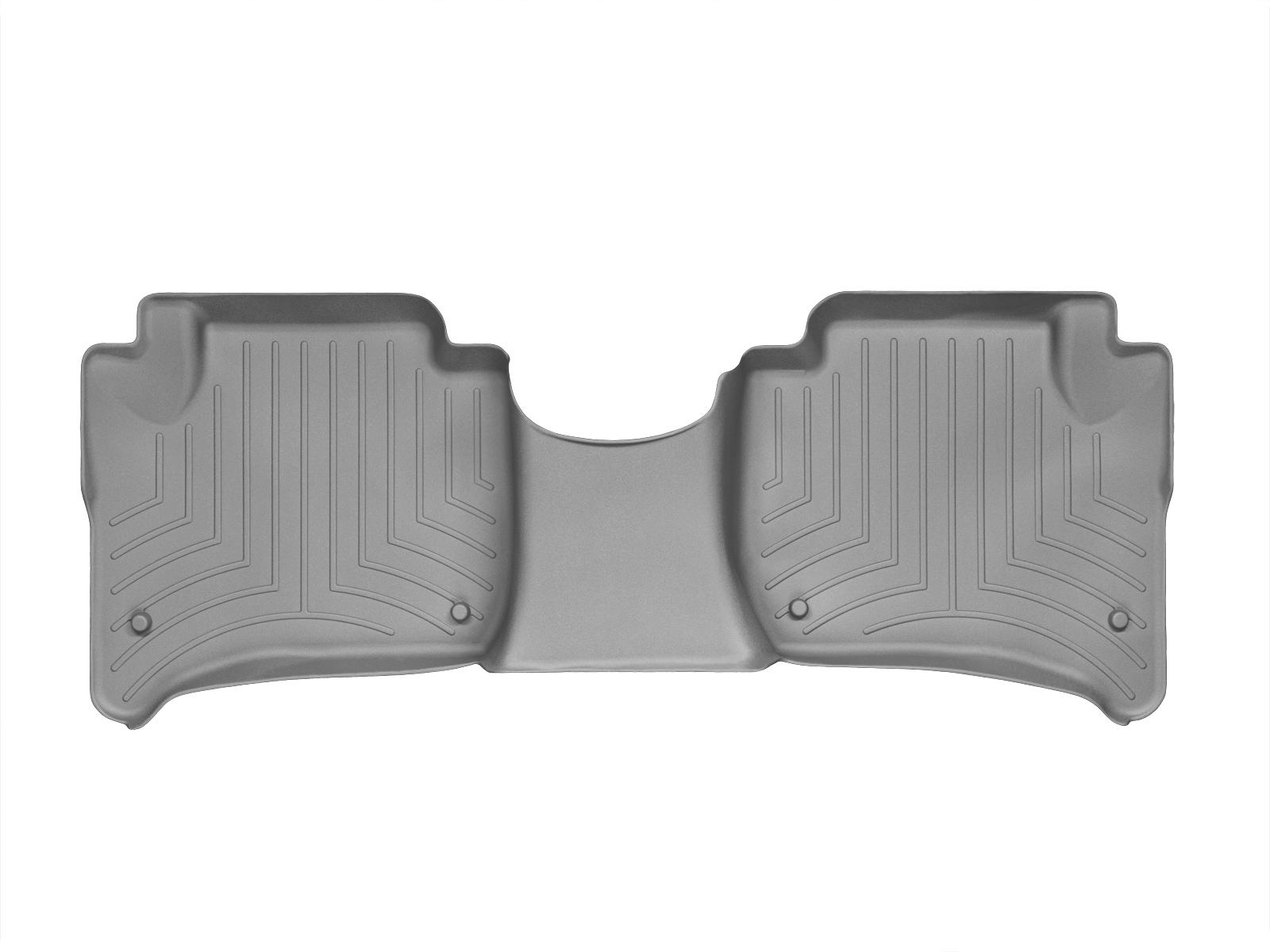 Tappeti gomma su misura bordo alto Volkswagen Touareg 10>10 Grigio A4313*