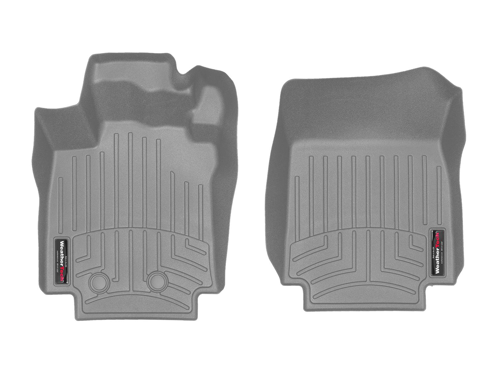 Tappeti gomma su misura bordo alto Renault Clio 06>14 Grigio A3228