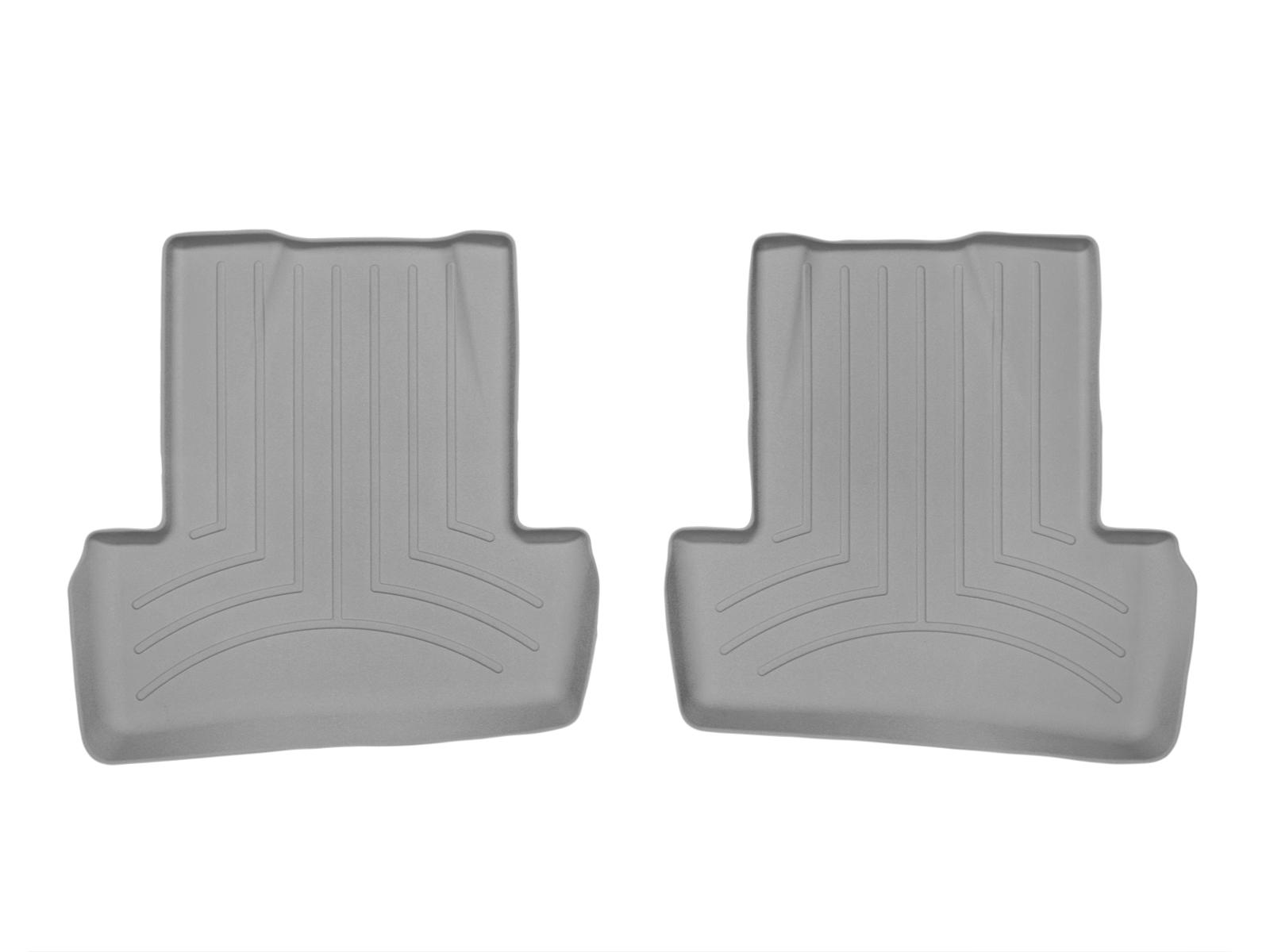 Tappeti gomma su misura bordo alto Renault Captur 13>17 Grigio A3225