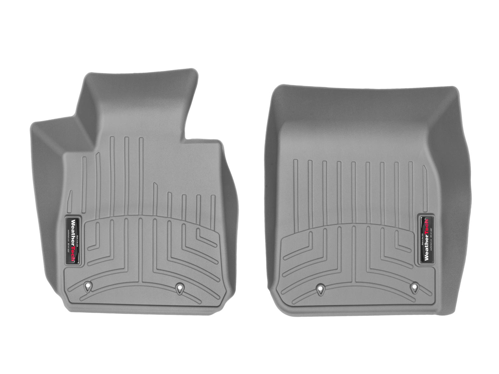 BMW Serie 2 (F22/F23) 15>17 Tappeti gomma su misura bordo alto grigio*