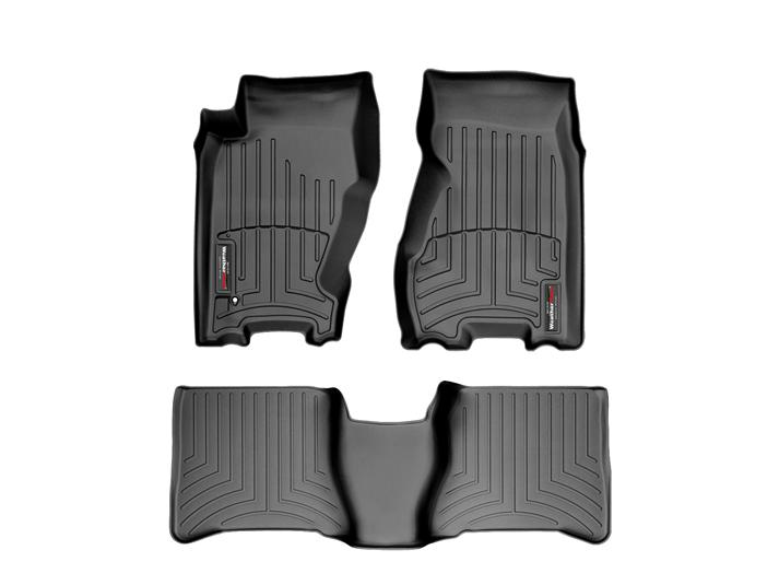 1999 Jeep Grand Cherokee Floor Mats Laser Measured For A Perfect Fit Weathertech
