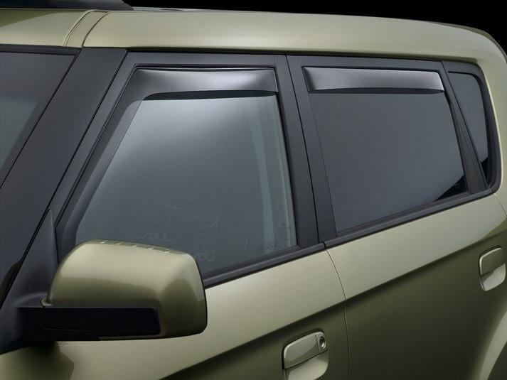 2013 Kia Soul   Rain Guards   Side Window Deflectors For Cars Trucks SUVs  And Minivans   WeatherTech.com