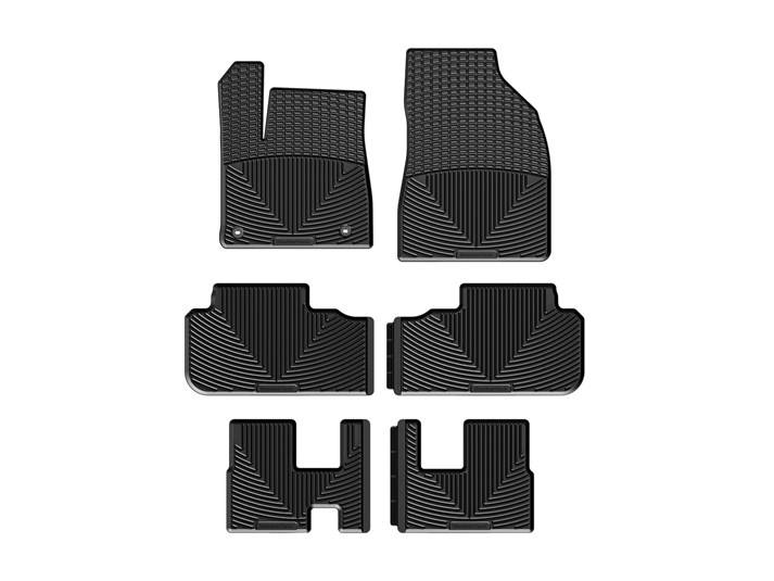 toyota highlander allweather car mats all season flexible rubber floor mats