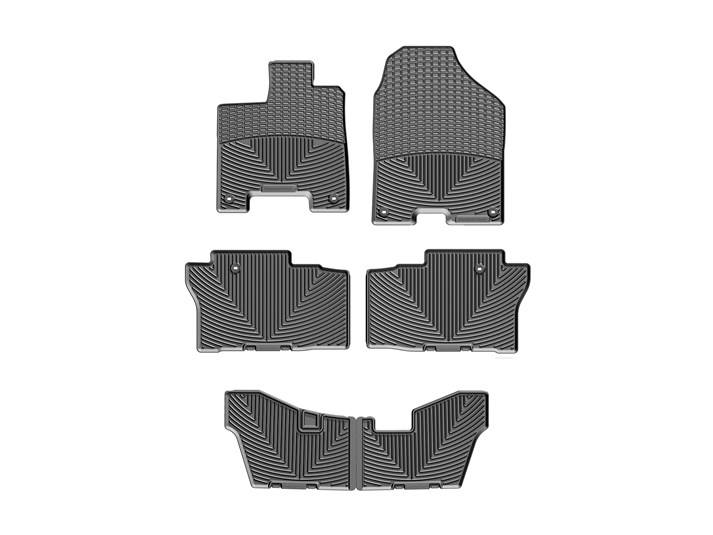 honda pilot allweather car mats all season flexible rubber floor mats