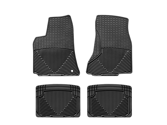 2010 dodge charger | all-weather car mats - all season flexible
